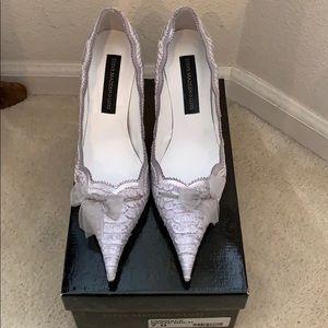 Steve Madden Luxe white Embrace heels